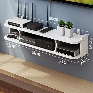 HJJ Los estantes flotantes Se Utiliza for los componentes de televisión, montado en la Pared Consolas Multimedia, Cajas de...