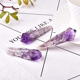 ZZLLFF Energía Cristal Cristal Natural de Cristal de Cuarzo Amatista de Grupo de Barras Punto de muestras Suerte Natural Spirit Gem Y (Size : 35g)
