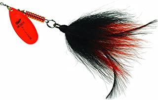 Mepps BM HO-BO MuskyKiller-Bucktail, 3/4-Ounce, Hot Orange