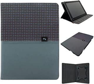 for Wallet Media Stand case Cover for Various Tablet,Two-Tone Blue,Tesco