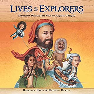 Lives of the Explorers audiobook cover art