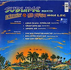 LP-SUBLIME-MEETS SCIENTIST AND MAD... -RSD 2021-