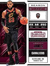 2018-19 Panini Contenders Draft Picks Basketball Season Ticket Variation #41 LeBron James Cleveland Cavaliers Official NBA Trading Card
