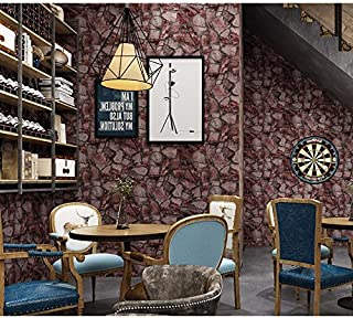 Axb-dmg Vintage Stone Marble Nature Industrial Style Bedroom Living Room 3D Wallpaper