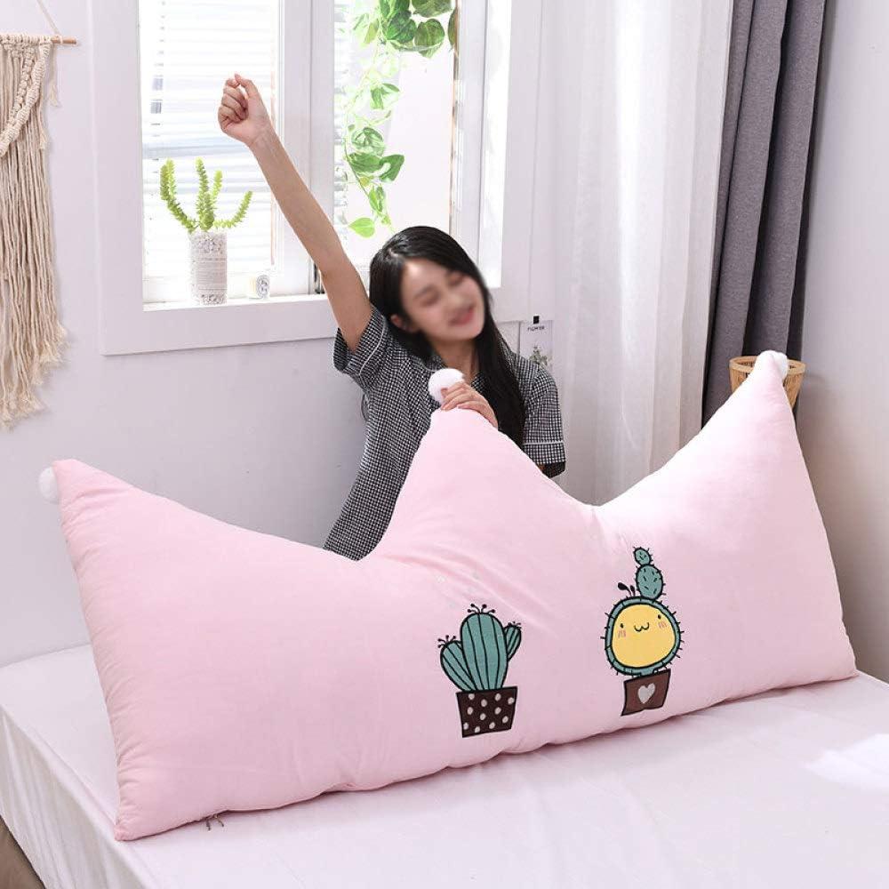 RUYII Charlotte Mall Cotton Crown Pillow Bed Head Big Los Angeles Mall Waist Back Cartoon