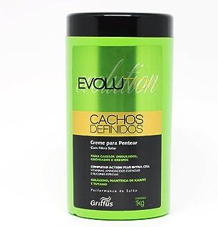 Evolution Cachos Definidos Creme para Pentear, 1 Kg, Griffus Cosméticos, Multicor