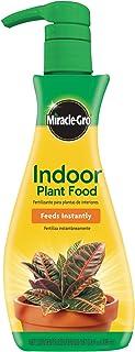 Miracle-Gro BLUEBELLS Indoor Plant Food (Liquid), 8 oz, Feeds All Indoor Houseplants - Including Edibles - Instantly