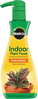 Miracle-Gro Indoor Plant Food (Liquid), 8 oz., Feeds All Indoor Houseplants - Including Edibles - Instantly
