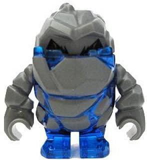 Rock Monster Glaciator (Trans-Blue) - LEGO Power Miners Minifigure
