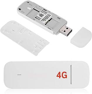 Socobeta Clé USB Haute Vitesse de Poche Plug and Play 4G WiFi Dongle léger 42 Mbps pour routeur WiFi d'ordinateur