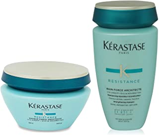 Kerastase Résistance Bain Force Architecte 250ml Masque Force Architecte 200ml
