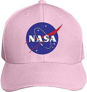 Heiazha Baseball Cap NASA Logo 3D Printed Adjusted Peaked Cap