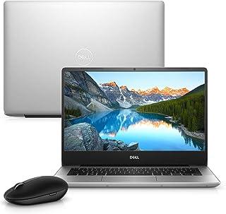 """Notebook Dell Inspiron i14-5480-M10M 8ª Geração Intel Core i5 8GB 1TB Placa de Vídeo FHD 14"""" Windows 10 Prata Mouse WM326 McAfee"""