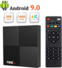 $32 Get Android 9.0 TV Box, T95 Mini Android Box 2GB RAM 16GB ROM H6 Quadcore Smart TV Box 2.4GHz WiFi 3D 6K Streaming Media Player