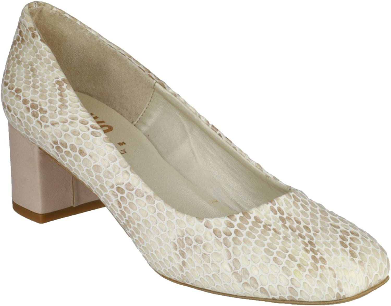 Riva Womens Burrow Snake shoes Natural Size UK 7 EU 40