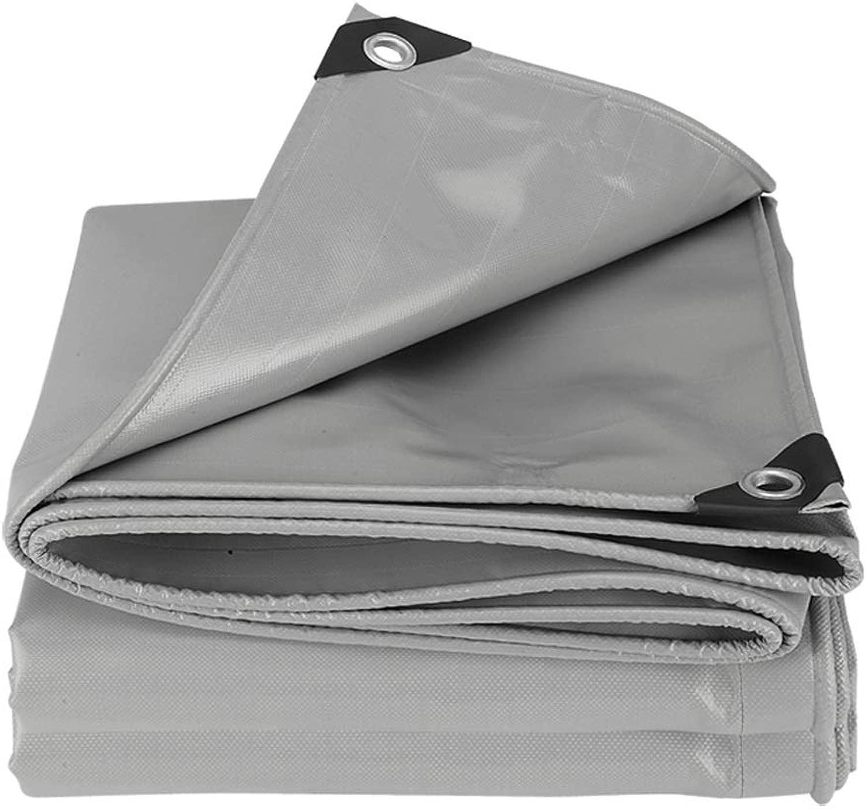 YI GAO グレー厚いナイフスクレーパーターポリンターポリンターポリンターポリンターポリン、グレー、18サイズ 防水シート (Size : 5mX6m)