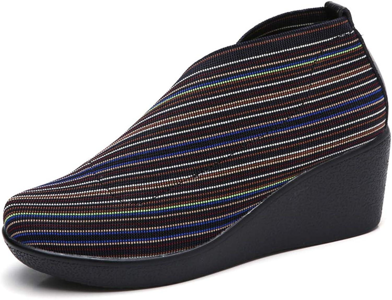 TinaFan Women Loafers Women Flats shoes Flat Platform Casual Leather Sneakers