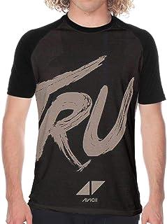 Tシャツドライ吸汗速乾 Avicii True (2) プリント 半袖シャツ メンズ T-Shirt