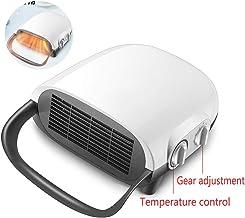 Encimera/Pared para Doble Uso, con Aire Calentado/Viento Frío/Ajuste De Ventilador Natural, para Oficina En El Hogar, Seguridad, Cierre De Temporización De Protección, Calentador De Pared