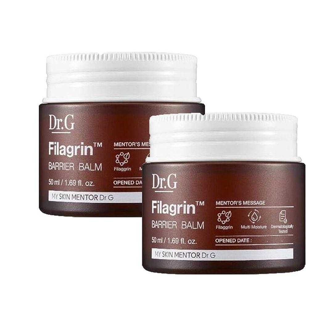 コンチネンタルハーネス不屈ドクターGピラーグリーンバリアBalm 50mlx2本セット お肌の保湿 韓国コスメ、Dr.G Filagrin Barrier Balm 50ml x 2ea Set Korean Cosmetics [並行輸入品]