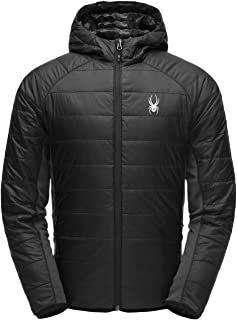 SPYDER Men's Glissade Hoody Insulated Hooded Jacket for Winter Sports