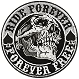 """Hot Leathers Spade Skull Patch (Multicolor, 3.5"""" Width x 3.5"""" Height) leather jacket men Mar, 2021"""