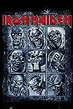 POSTER STOP ONLINE Iron Maiden - Music Poster/Print (Eddies/Collage) (Size 24' x 36')