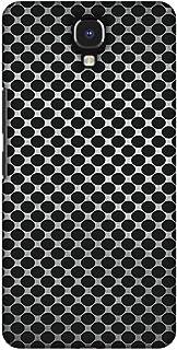AMZER Handcrafted Designer Printed Slim Snap on Hard Case - Infinix Note 4 - Vintage Dot Pop 3