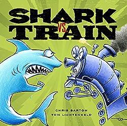 Shark vs Train picture book