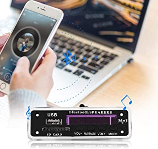 Long Life Portable USB MP3 Decoder Fixed Blue Backlight MP3 Decoder Board MP3 Player for Music Box Gift Shop FM Radio