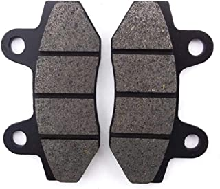 Non-Metallic Organic NAO Brake Pads Set KMG Front Brake Pads Compatible with 1996-1997 Polaris 300 400 Xpress L