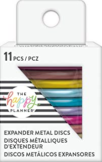 The Happy Planner Metal Rainbow Expander Discs