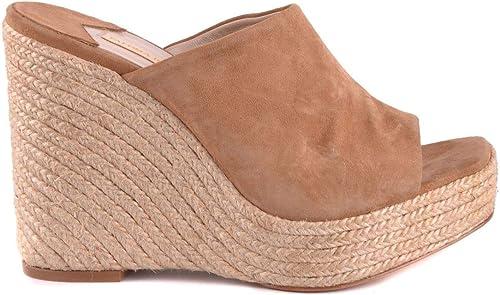 PALOMA PALOMA BARCELó Femme MCBI33960 Beige Suède Chaussures Compensées  marque