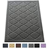 Premium Large Cat Litter Mat 35' x 23', Traps Messes, Easy Clean, Durable, Litter Box Mat with Scatter Control - Soft on Kitty Paws