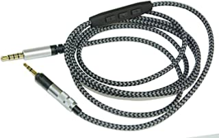 Rhinenet Replacement Cable For Sennheiser HD1 5ft For Sennheiser Momentum//For Momentum 2.0 Over On-Ear Headphones Cords 1.55m.