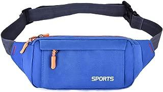 YXHM AU Pocket Men's Outdoor Leisure Sports Fashion Pockets Multi-Function Men's and Women's Chest Bags (Color : Royal Blue)