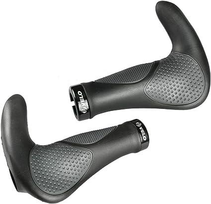 Fabric Ergo Lock On Grips Bike Bicycle Cycling Handlebar Grip Ergonomic New
