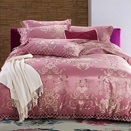 For Sale! BB.er Satin Tencel soft cotton autumn and winter bedding four-piece suit sheets quilt cove...