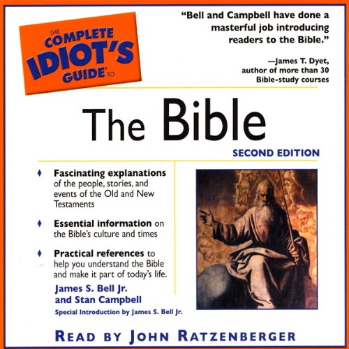 The Complete Idiot's Guide to The Bible audiobook cover art