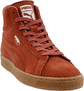 PUMA Mens Mid Emboss Mixed Rubber Suede