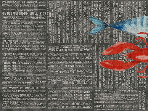 Duni Duni Papier-Tischsets By the Sea 30 x 40 cm 250 Stück