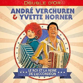 Double d'or: Le roi et la reine de l'accordéon