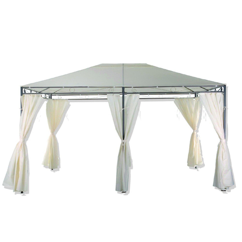 Cenador carpa tienda de campaña Santorini – 3 x 4 m – blanco ...