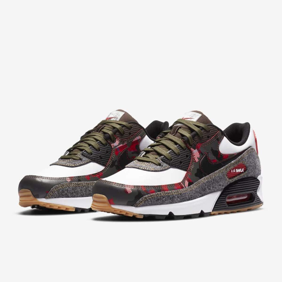 Amazon.com | Nike Men's Shoes Air Max 90 SE Remix Pack DB1967-100 ...