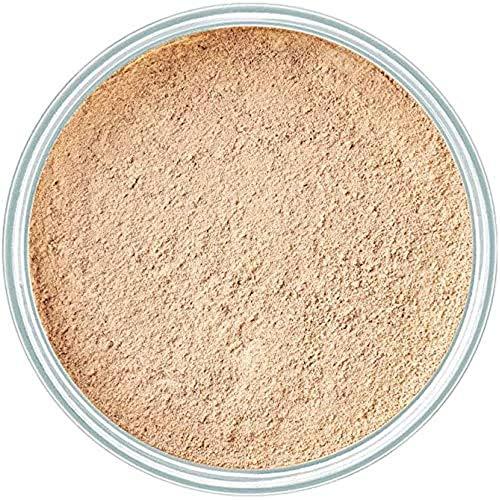 ARTDECO Mineral Powder Foundation, Puder Make up, Nr. 4, light beige