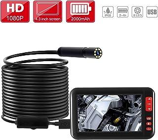 Endoscopio Industrial Digital 1080P HD, Cámara de Inspecci�
