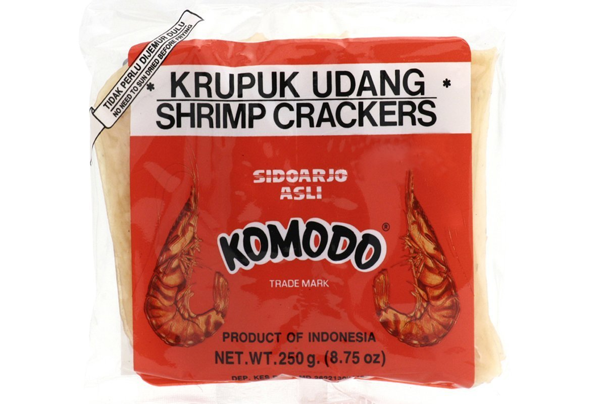 Komodo Krupuk Udang Shrimp Crackers Large Fried Not Yet Disks Max 65% Limited Special Price OFF