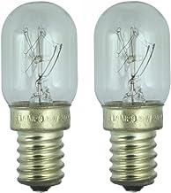 2 x 240v 15w Fridge lamp for use Within a Samsung Fridge. 240v. SES (E14) Small Edison Screw Light Bulb