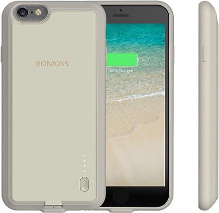 iPhone 6 Plus / 6s Plus Battery Case, ROMOSS Ultra Slim Extended Battery Case for iPhone 6 Plus / 6s Plus (5.5 inch) with 2800mAh Capacity - Vanilla White