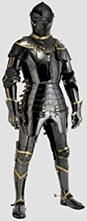 NAUTICALMART Medieval Knight Suit of Armor Combat Full Body Armour Wearable Handicraft Replica